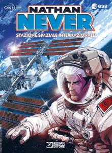 copertina fumetto Nathan Never stazione spaziale internazionale