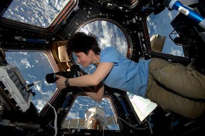 Samantha Cristoforetti sulla ISS