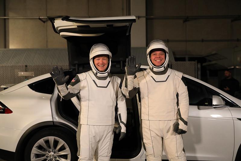 astronauti dragon Doug Hurley Bob Behnken