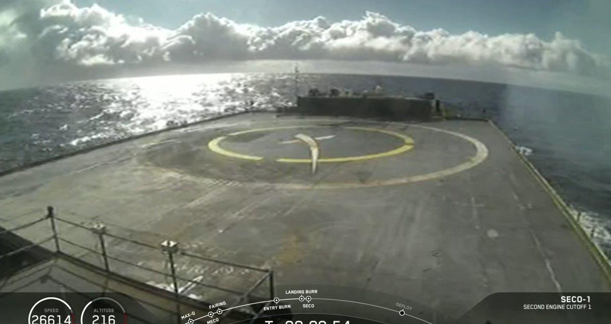 Chiatta SpaceX