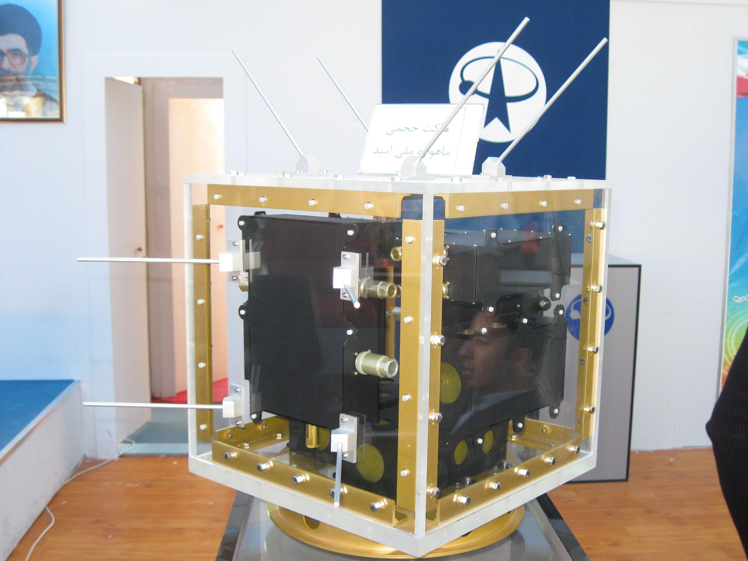 Il primo satellite Iraniano Omid
