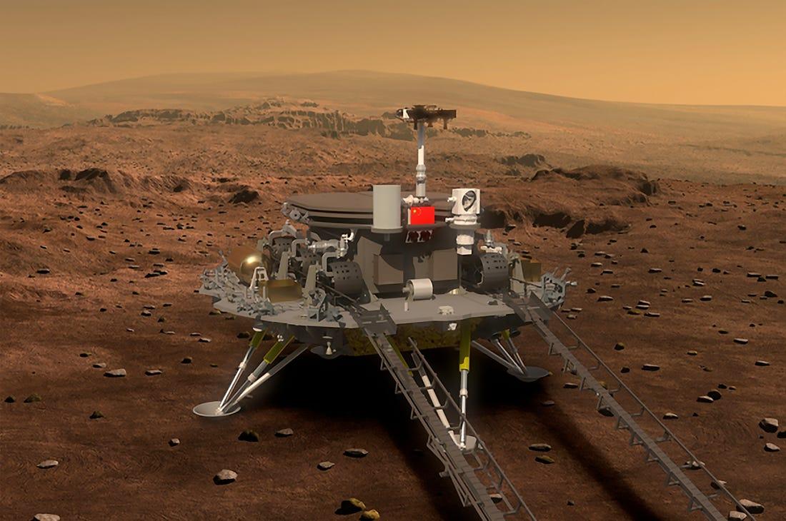 Cina mars rover