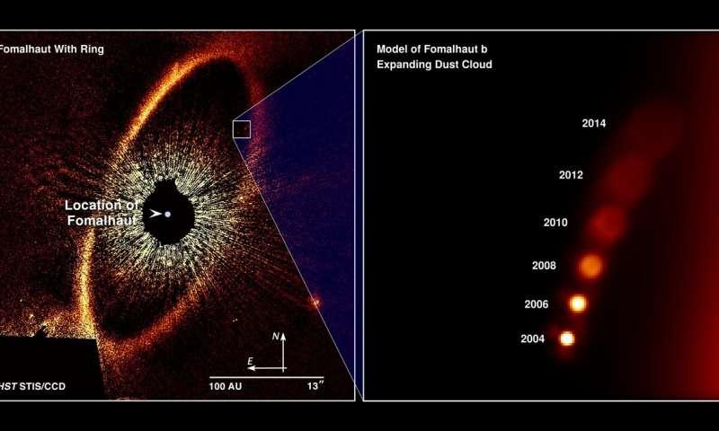 Hubble_Fomalhaut b