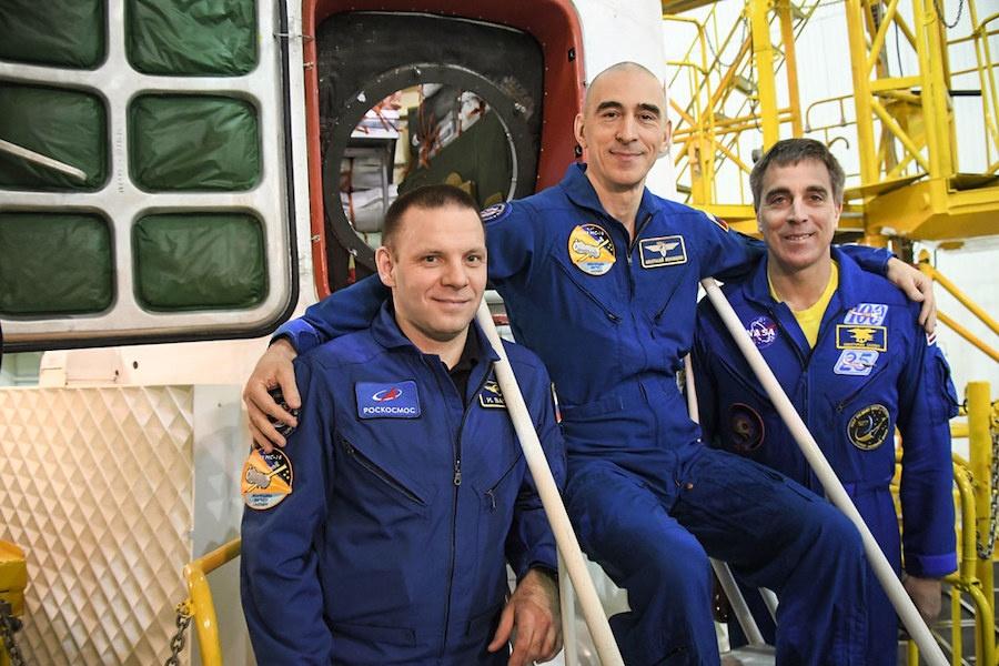 Soyuz crew