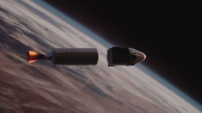 Falcon 9 Secondo stadio