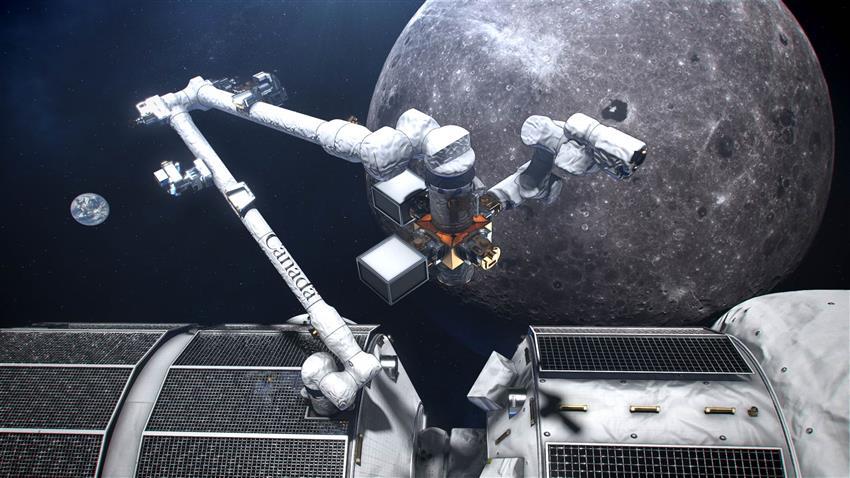 Lunar Gateway Luna.