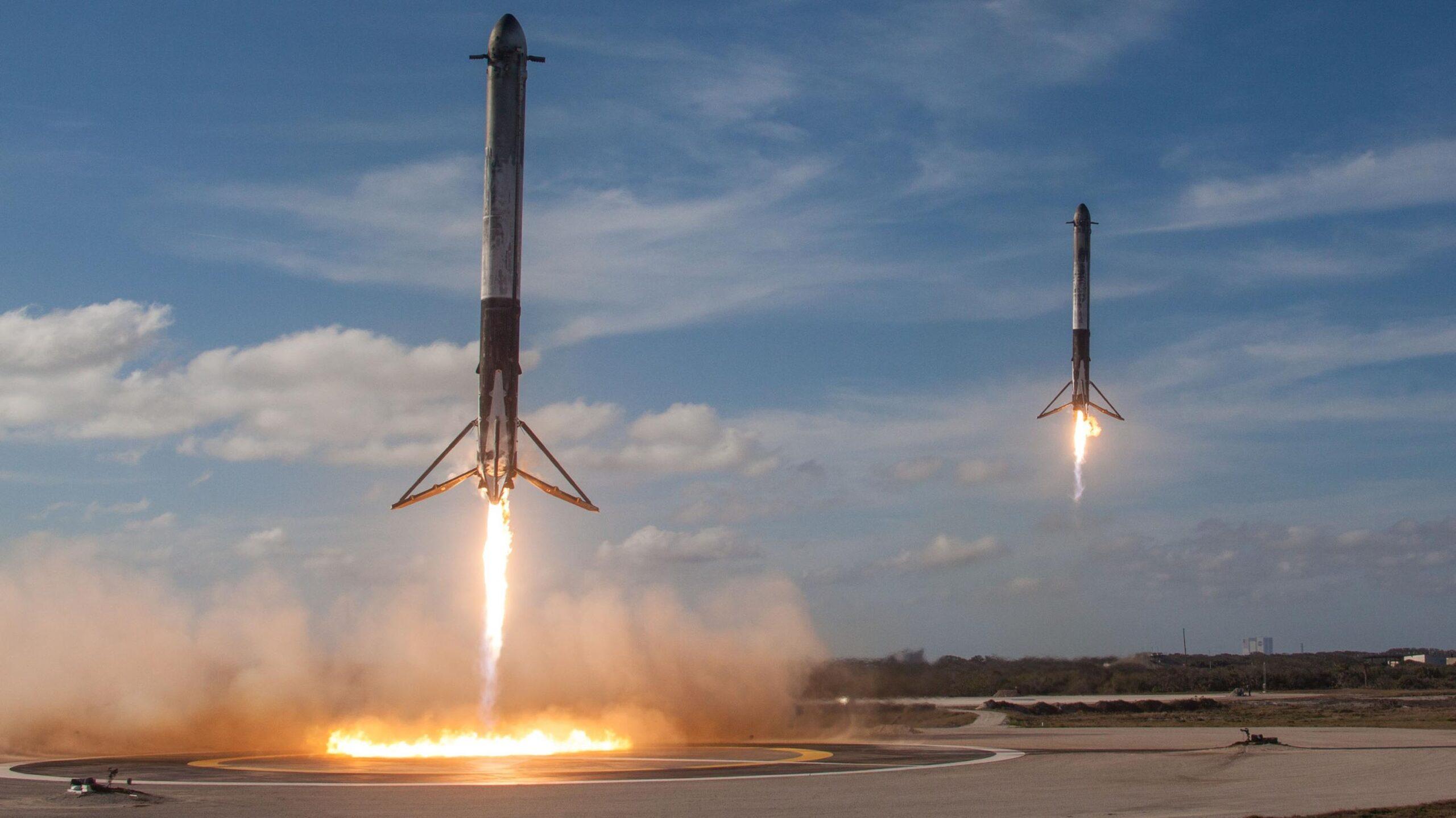 Falcon Heavy razzo riutilizzabile