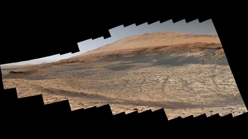 Curiosity pianeta rosso