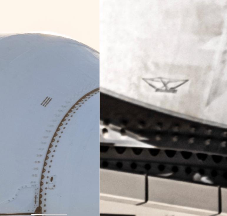 SpaceX Falcon 9 fairing