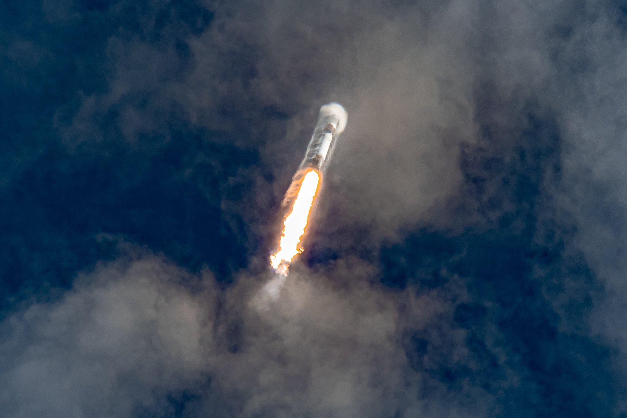 Falcon 9 sonic boom
