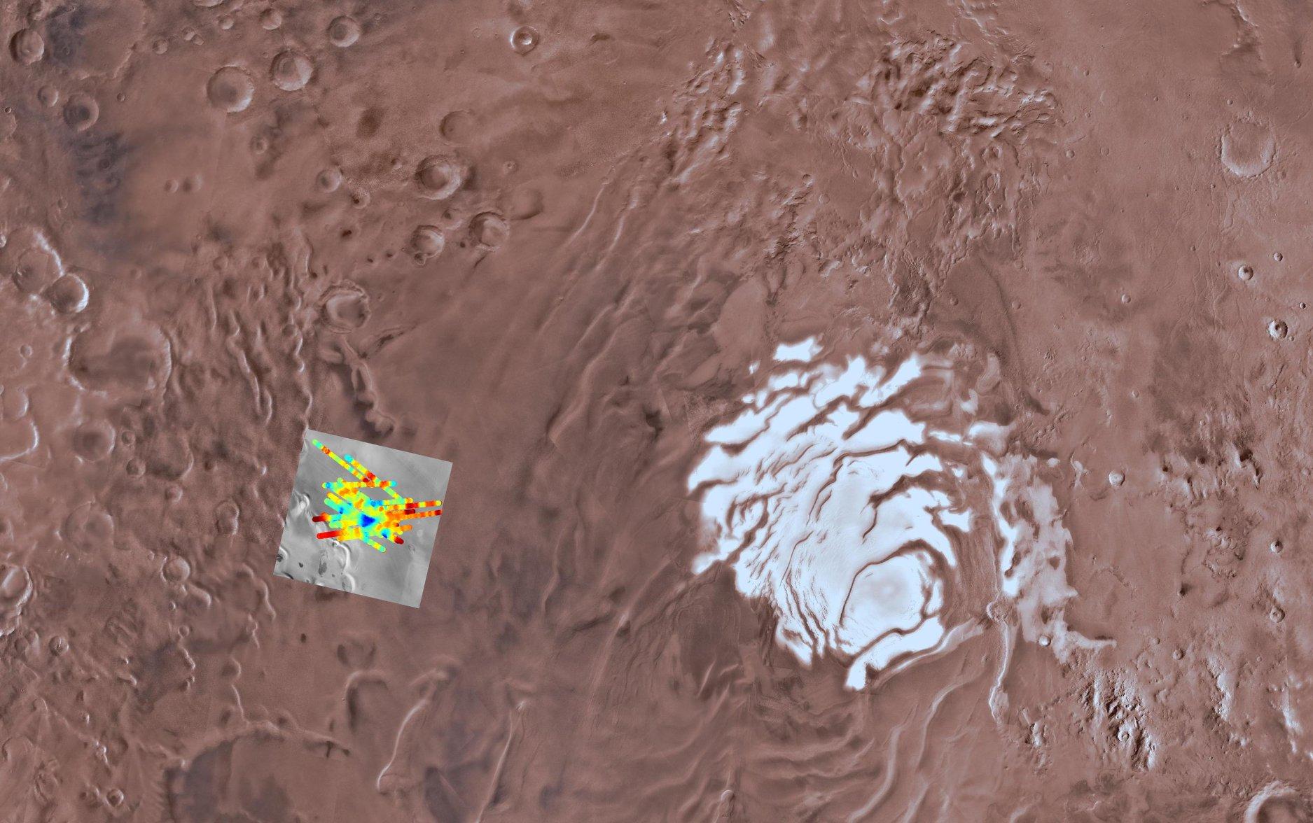 MARSIS Acqua Marte