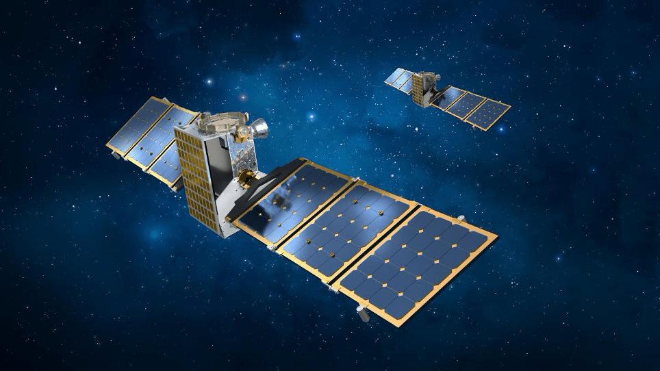 Render delle due sonde gemelle che comporranno la missione Janus. Credits: Lockheed Martin