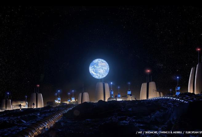 Moon Village Valentina Sumini