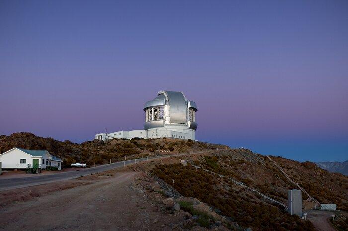 Osservatorio Gemini con cui è stato osservato l'esopianeta gigante.