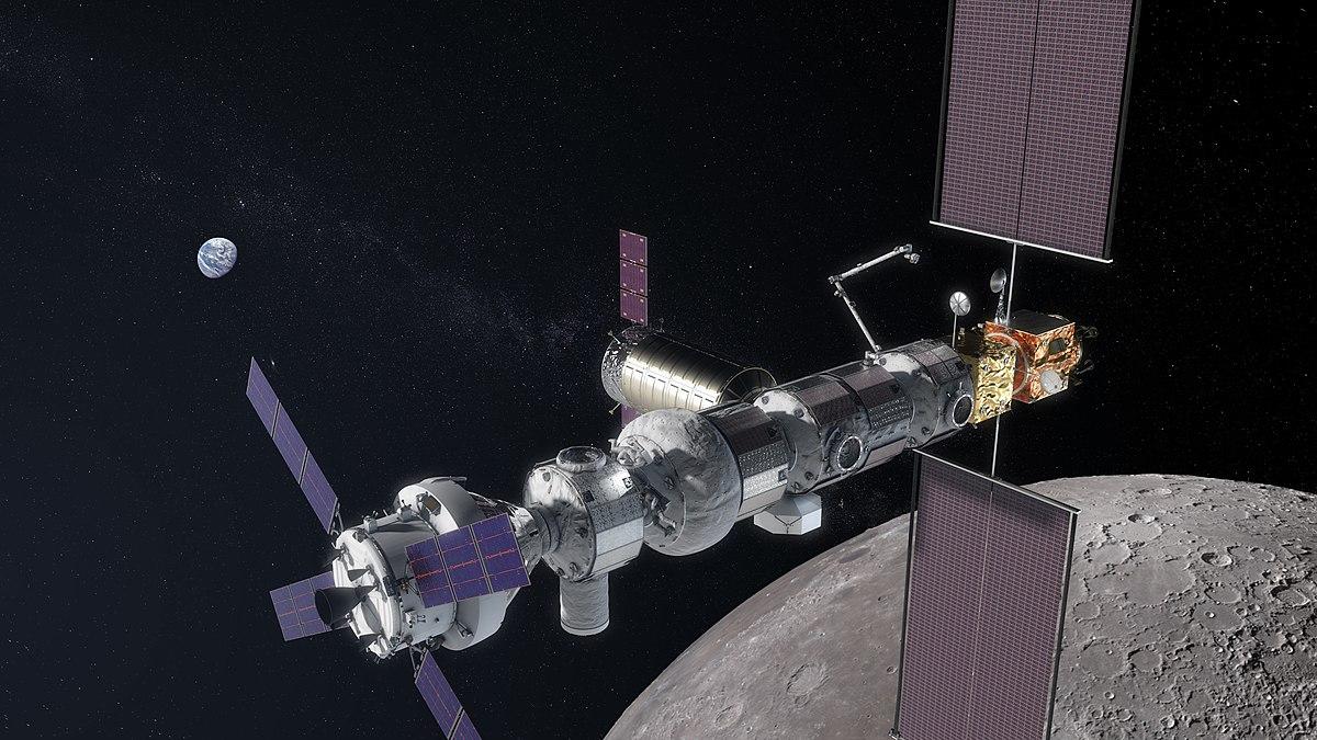 Lunar Gateway Luna