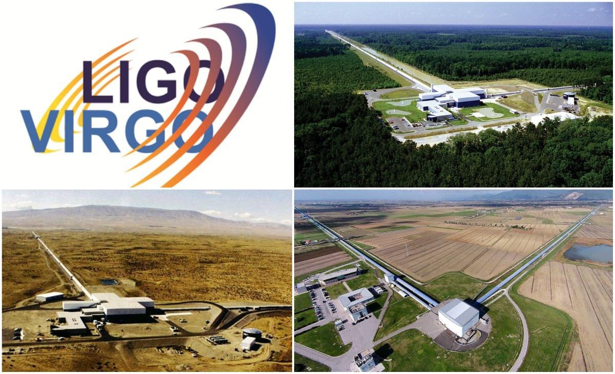 LIGO VIRGO onde gravitazionali