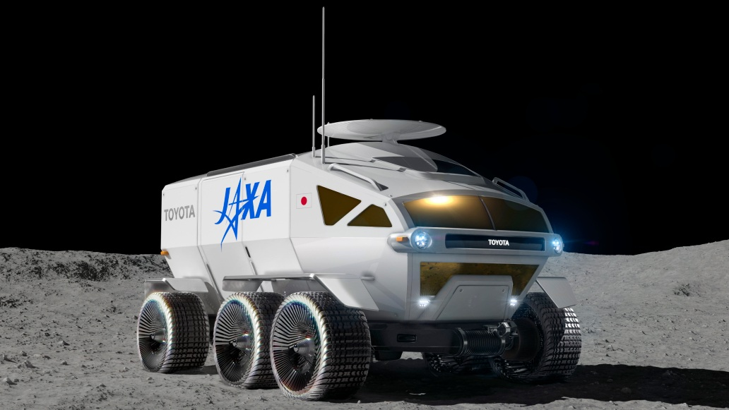 TOYOTA/JAXA rover Artemis