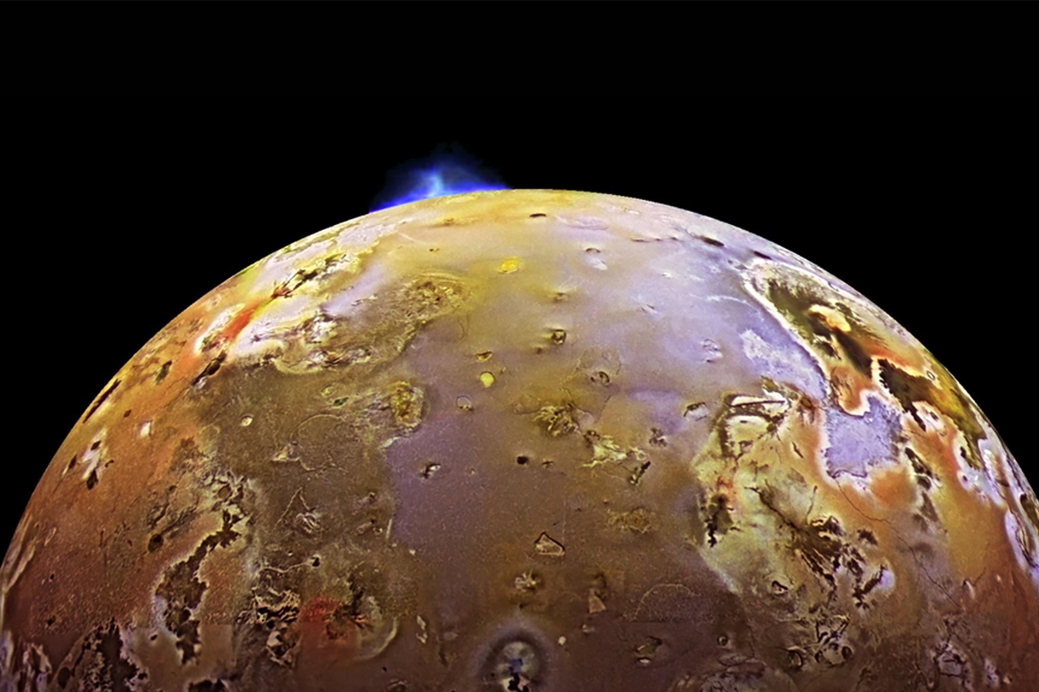 Il satellite gioivano Io.