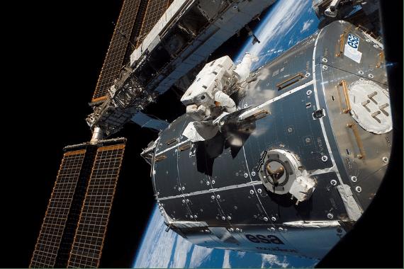 Modulo Columbus ISS