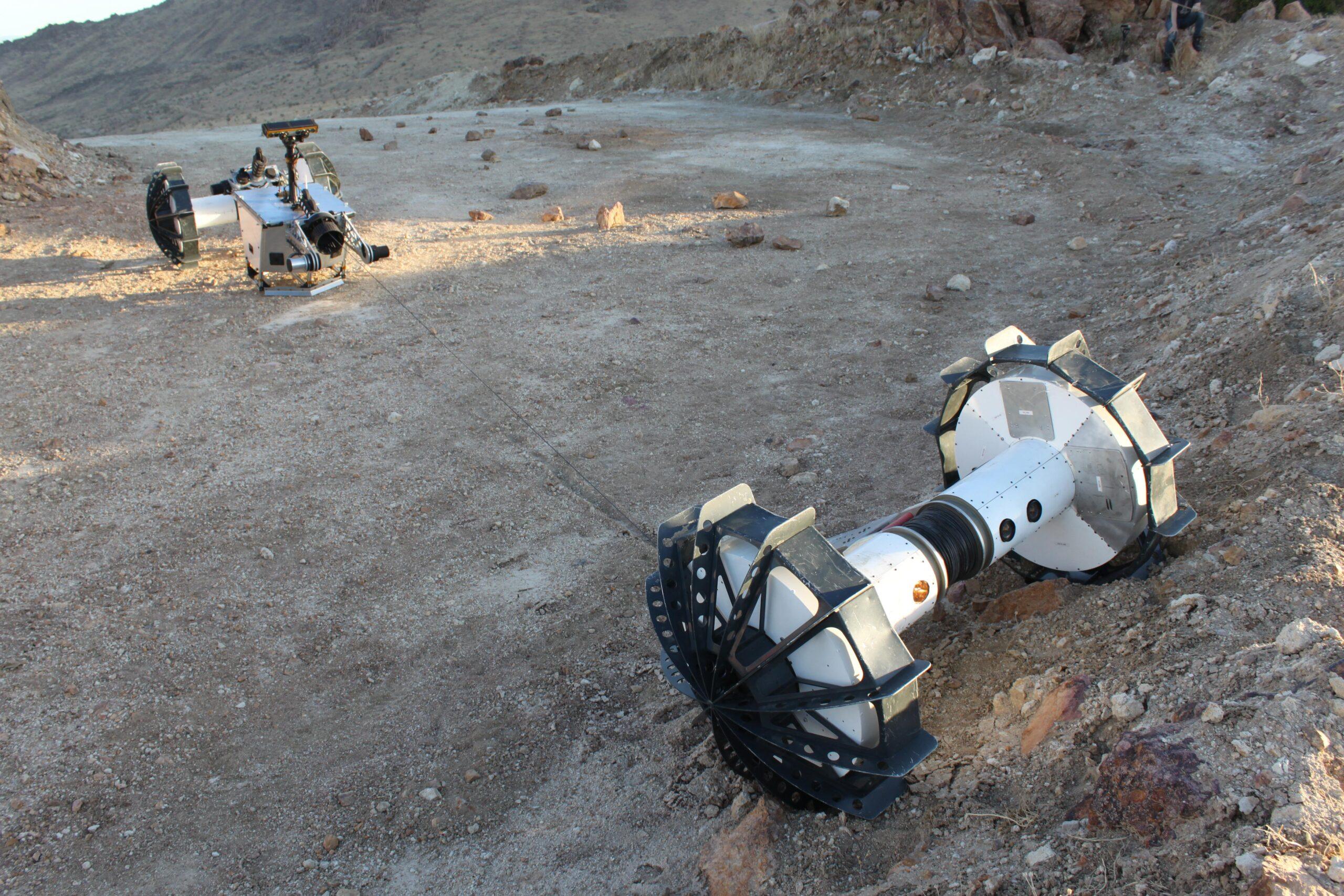 Axel DuAxel Rover Marte