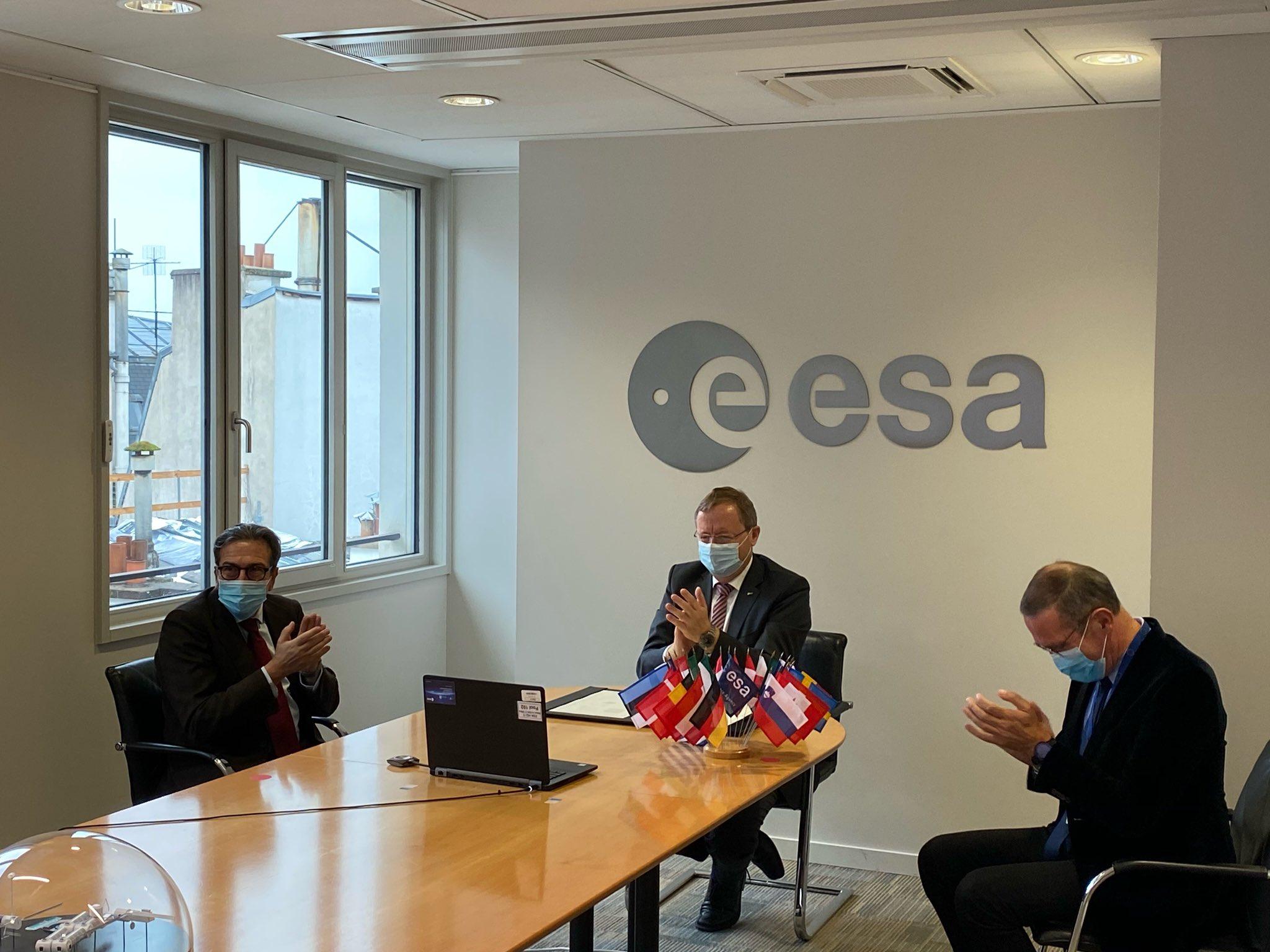ESA e NASA
