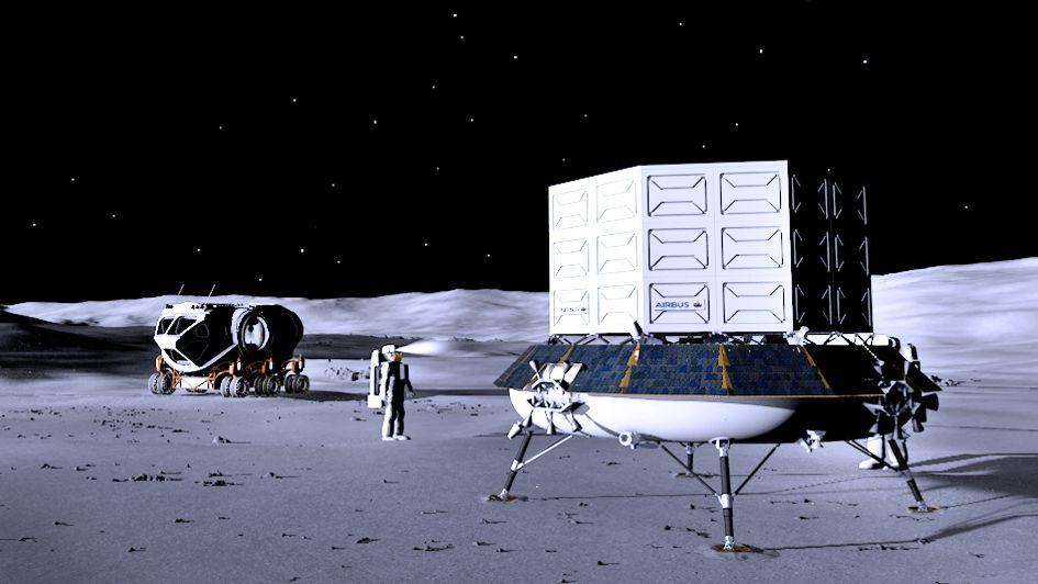 Large Logistic Lander luna Artemis