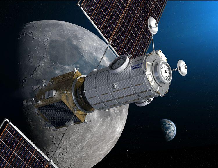 HALO Lunar Gateway module Luna