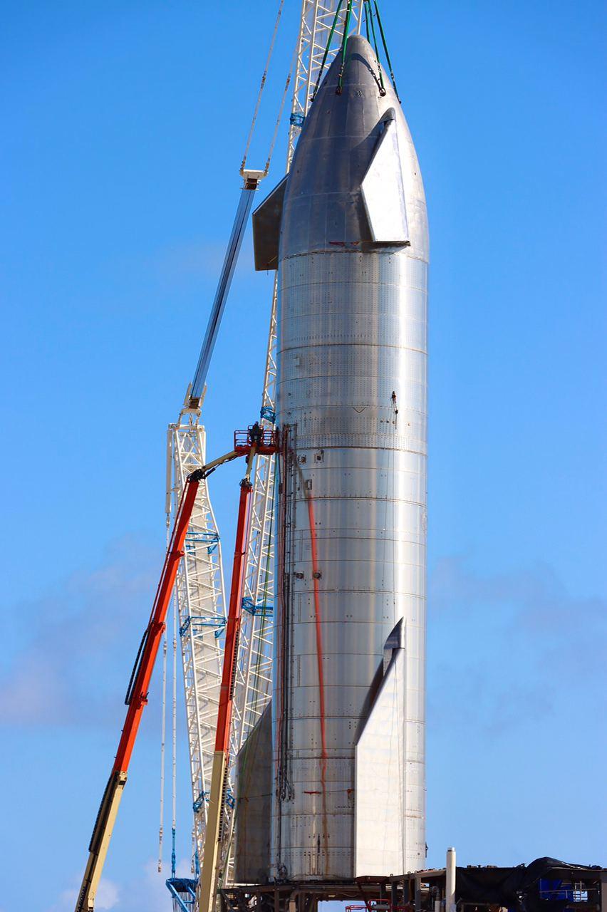 Starship SN8 SpaceX quotazione