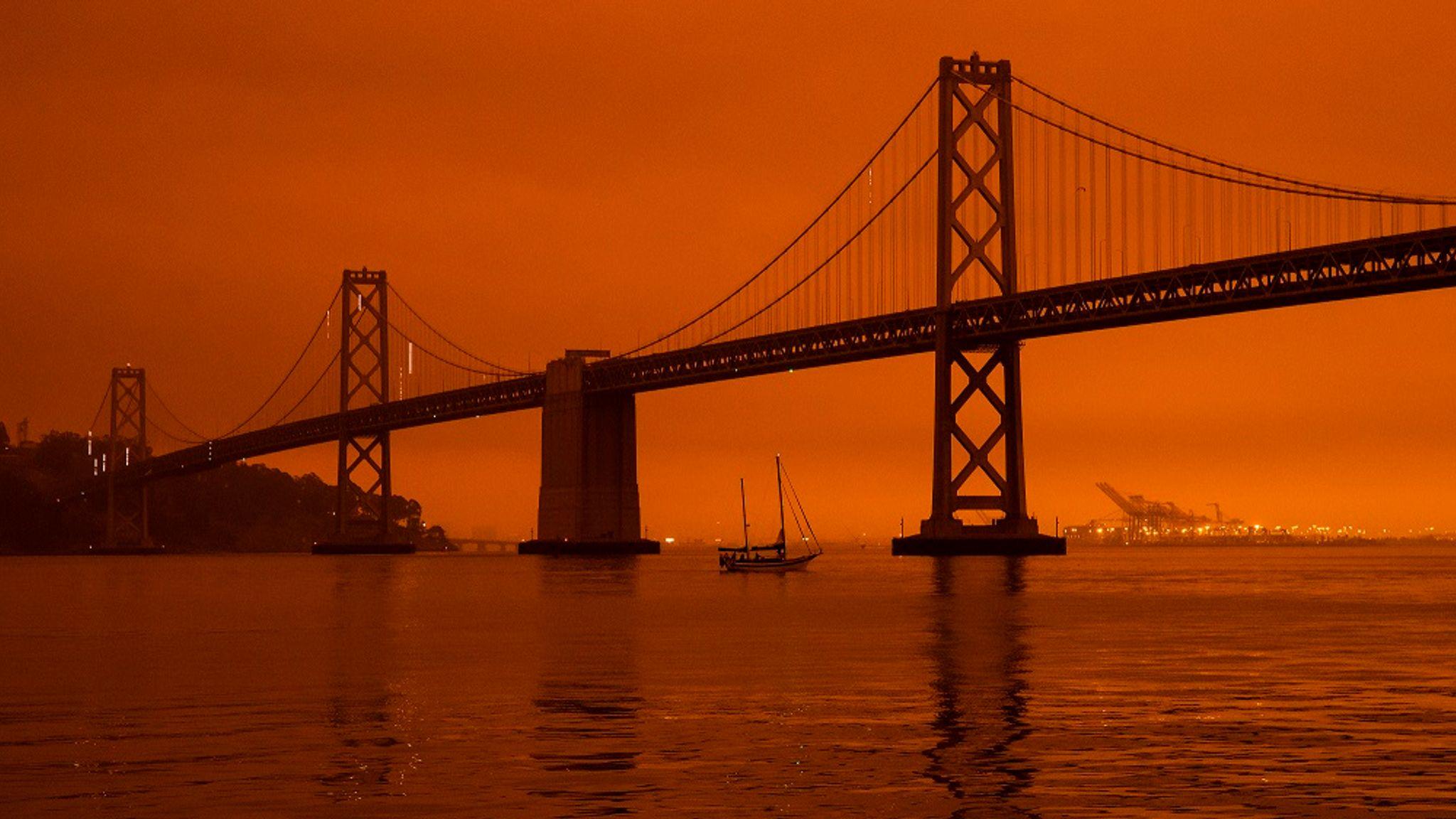 San Francisco incendi
