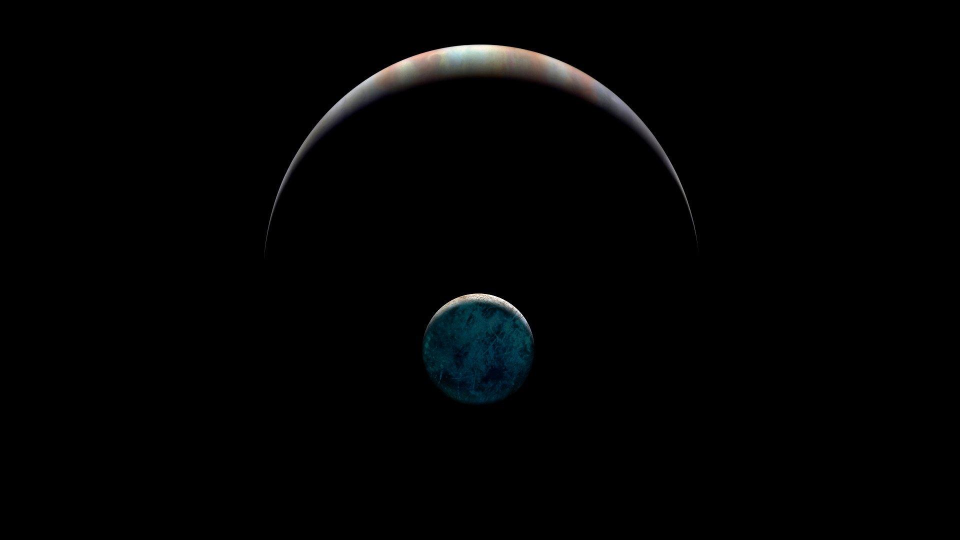 Europa JPL Radiazione