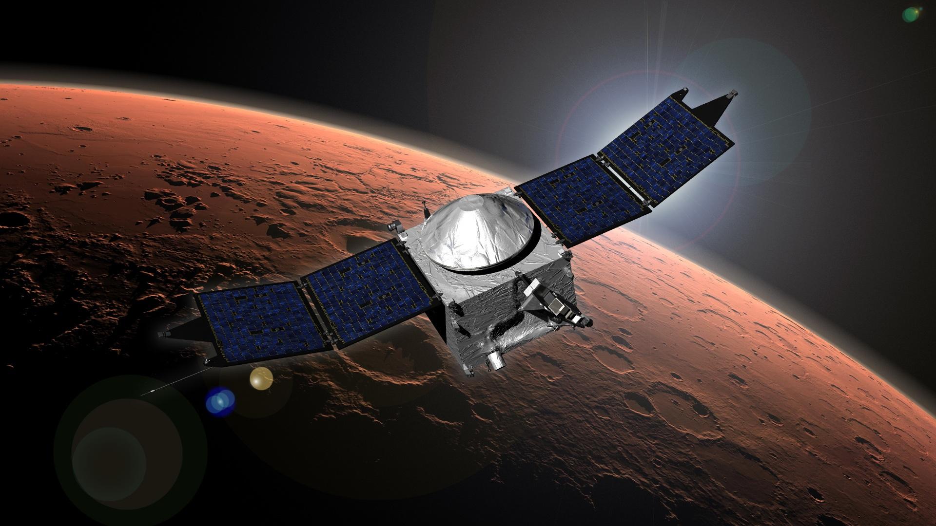 MAVEN Arrivo Marte