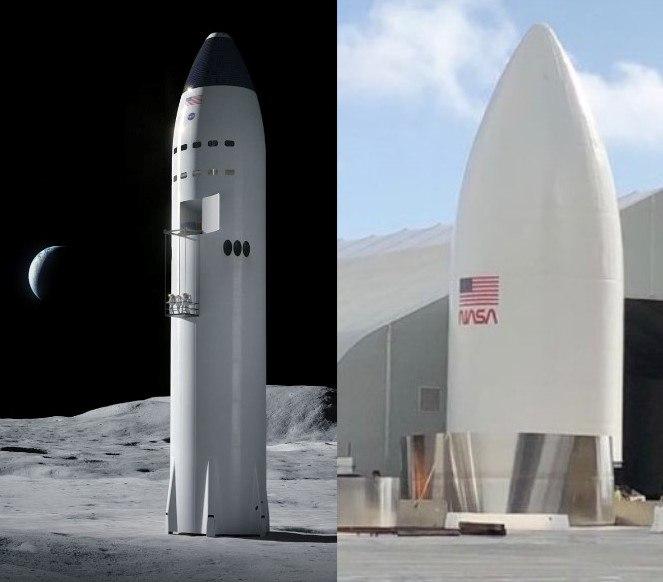 Moonship SpaceX Starship SN8