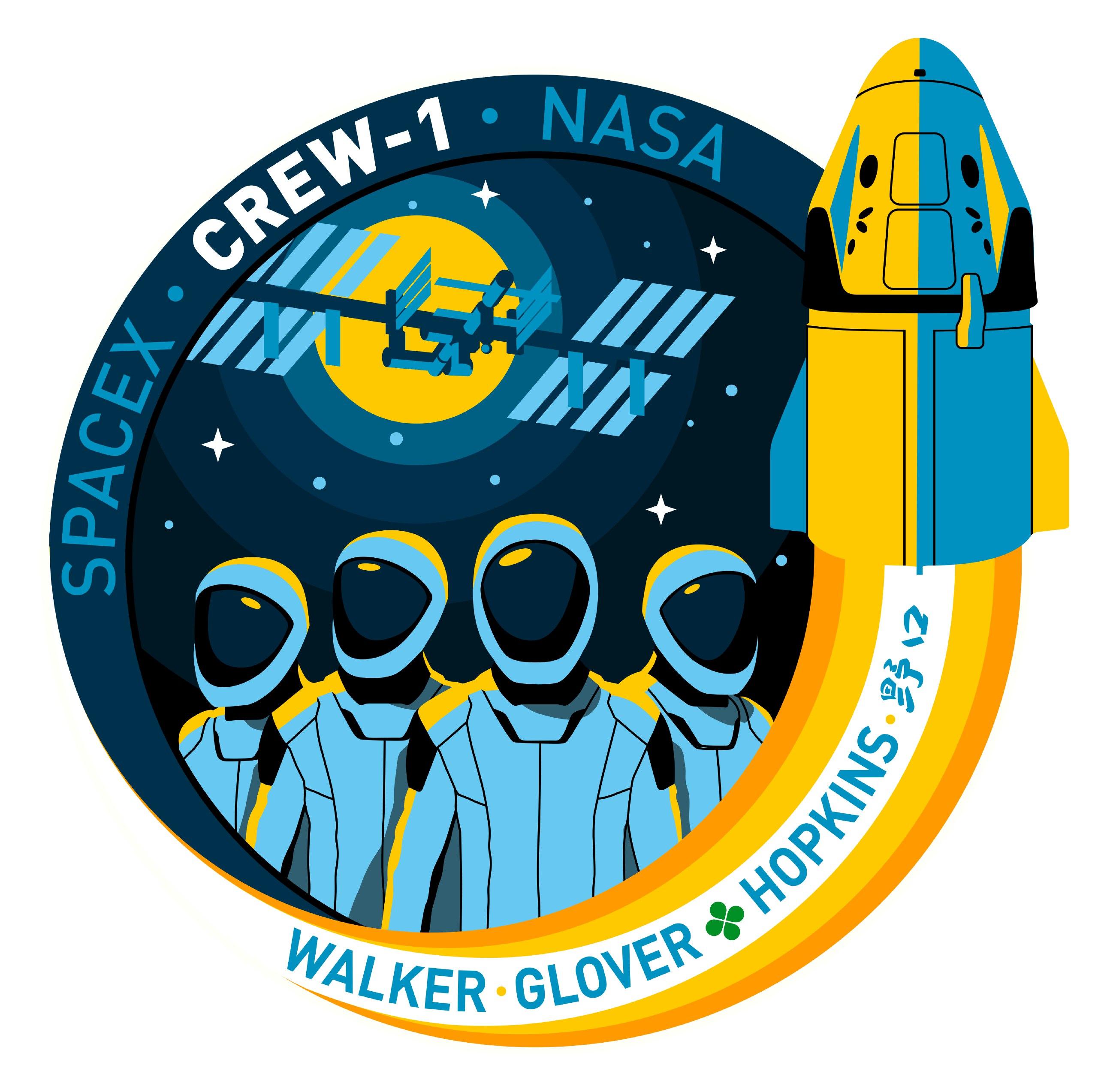 Patch Crew-1