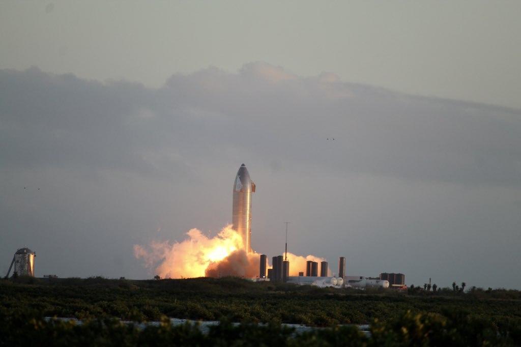Static Fire test Starship SN8