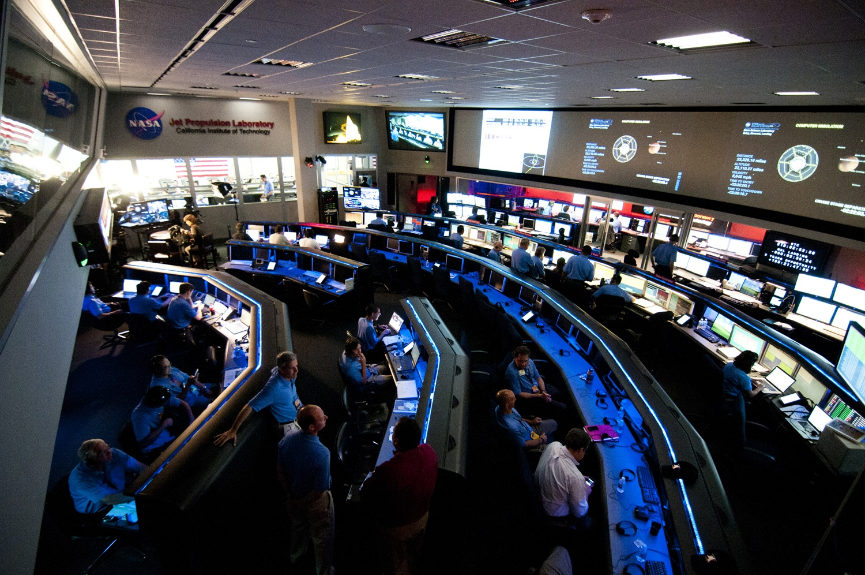 JPL Space Flight Operations Center Paolo Bellutta