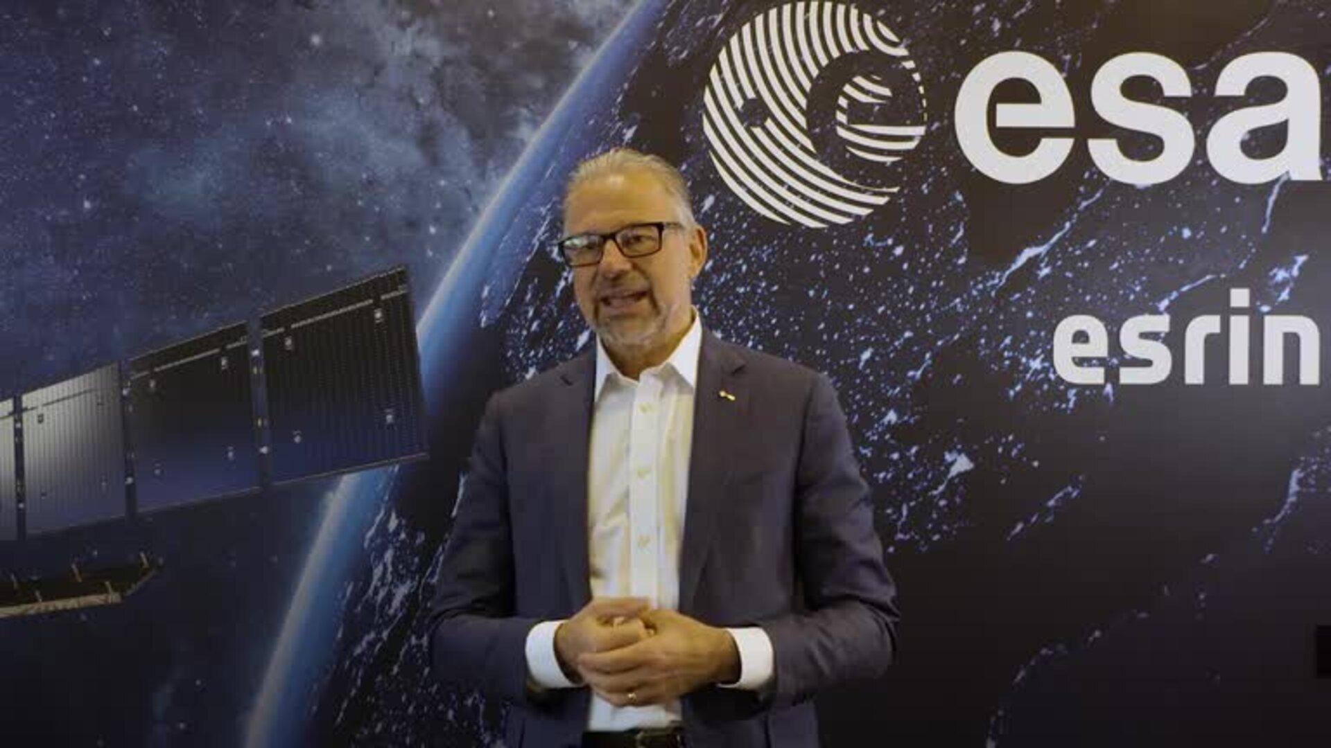 Josef Aschbacher. Credits: ESA