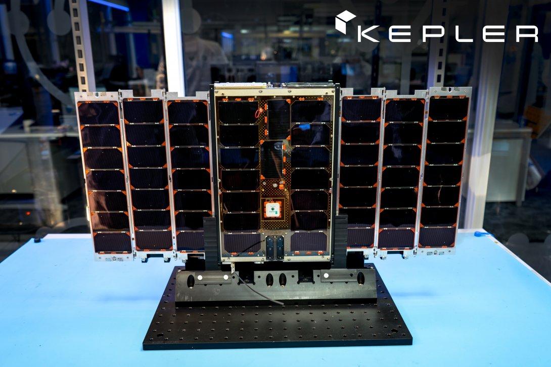 Un satellite della costellazione di Kepler. Credits: Kepler Inc. Transporter-1