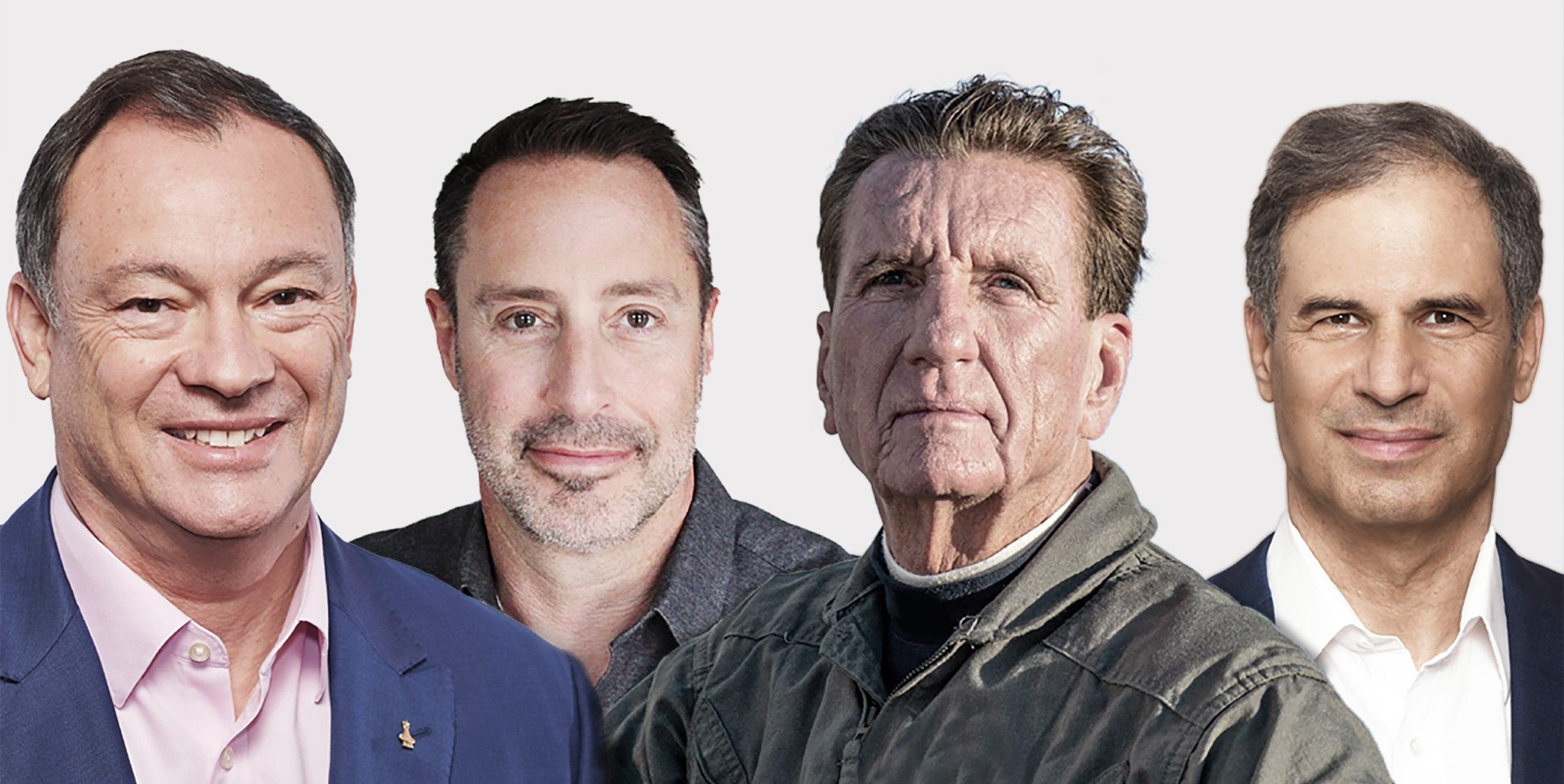 L'equipaggio della missione Ax-1. Da sinistra: Michael Lopez-Alegria; Mark Pathy; Larry Connor e Eytan Stibbe. Credits: Axiom Space.