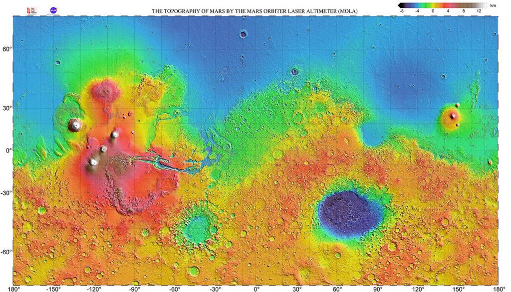 Marte Atterraggio spaceX