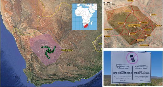 La Karoo Astronomy Advantage Area in Sudafrica, presso cui verranno installate le antenne di uno dei due radiotelescopi del progetto SKA. Credits: organizzazione SKA