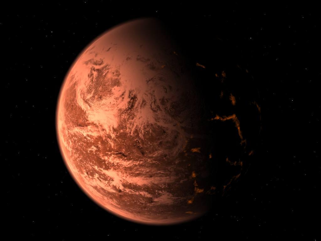 Super Terra Gliese 876d