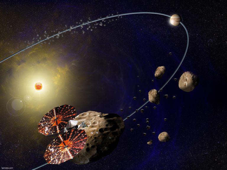 Missione Lucy asteroidi troiani
