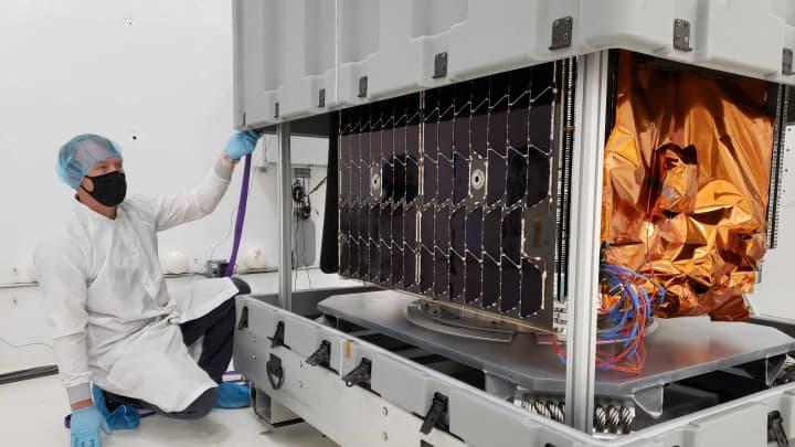 Il primo satellite commerciale di Astranis.
