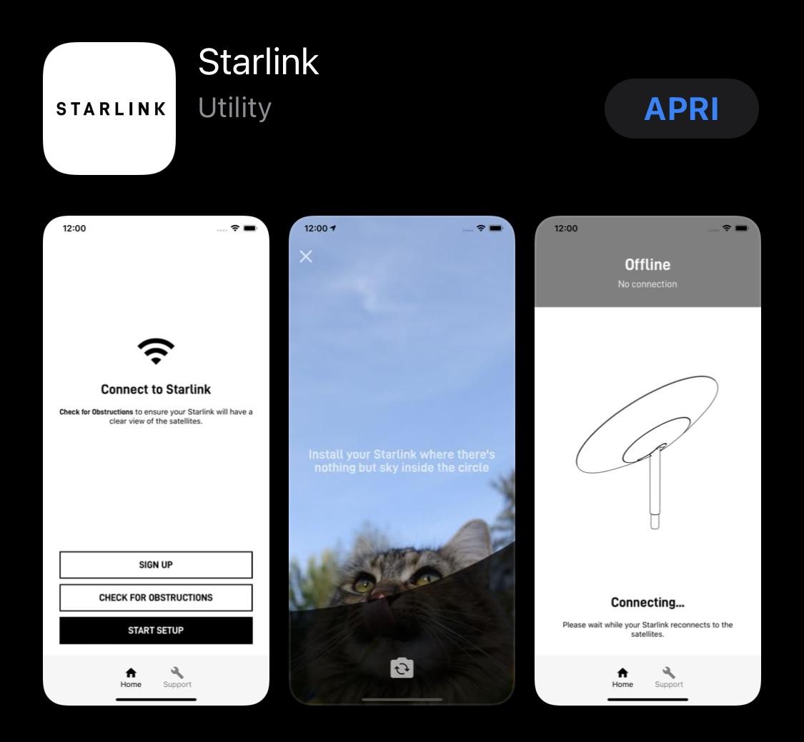 applicazione starlink