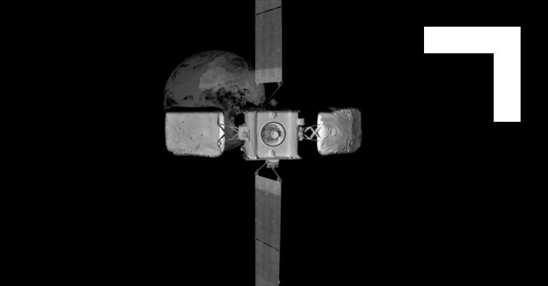 Il satellite Intelsat visto dal MEV-2. Credits: Northrop Grumman
