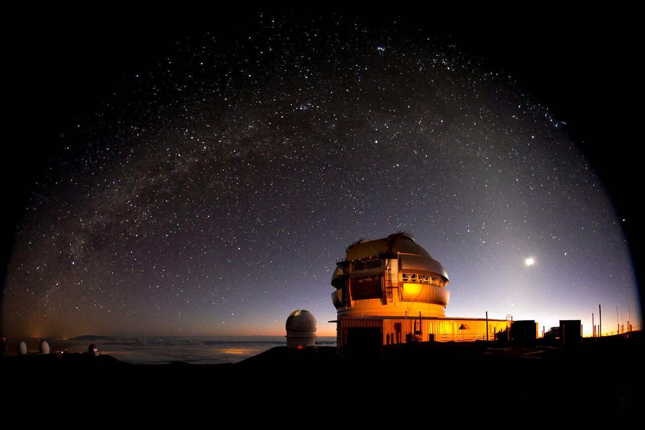 Gemini North Telescope, Milky Way