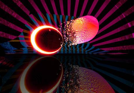 Fusione buco nero stella di neutroni