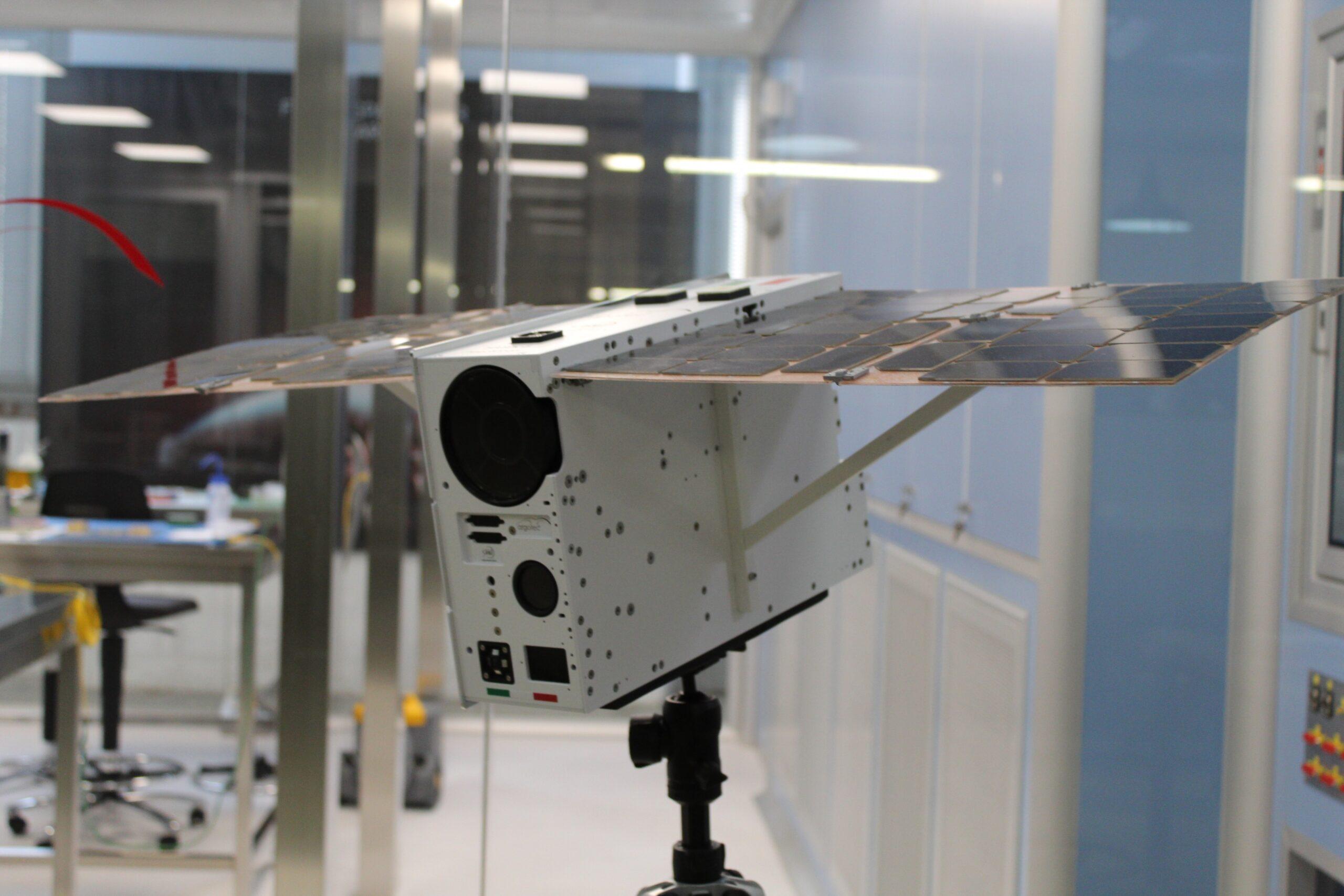 Il satellite LICIACube. Credits: Argotec.