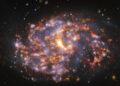 Immagine della galassia NGC 1087. Credit: ESO/ALMA (ESO/NAOJ/NRAO)/PHANGS