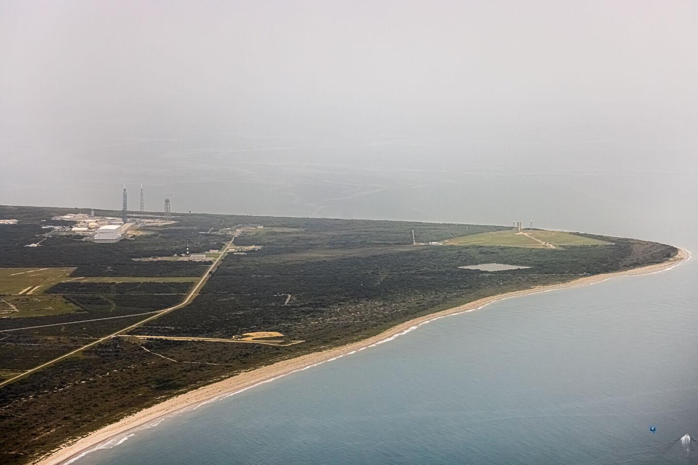 La rampa LC36 di Blue Origin. Credits: Trevor Mahlmann per Ars Technica.